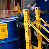 grabbers for 1 or 2 drum lifting applications